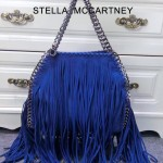 Stella McCartney-014-04 斯特拉秋冬新款潮流時尚高圓圓同款中號流蘇鏈條包