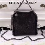 Stella McCartney-016-01 斯特拉潮流時尚水鉆系列限量版手提單肩鏈條包