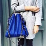 Stella McCartney-05-05 斯特拉潮流時尚爆款大號手提肩背鏈條包