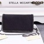 Stella McCartney-018-02 斯特拉潮流時尚鉚釘系列單肩斜跨鏈條包