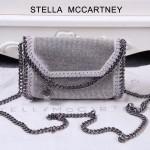 Stella McCartney-015-02 斯特拉潮流時尚水鉆系列限量版單肩鏈條包