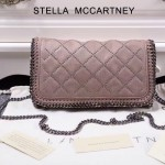 Stella McCartney-021 斯特拉潮流時尚新款菱格系列鏈條釘釘包
