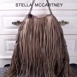 Stella McCartney-012-03 斯特拉秋冬新款潮流時尚高圓圓同款大號流蘇鏈條包
