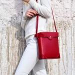 Manu Atelier-04-3 時尚新寵兒劉雯左岸瀟同款紅色牛皮大號單肩斜挎包
