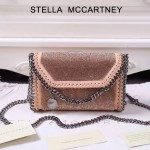 Stella McCartney-015-01 斯特拉潮流時尚水鉆系列限量版單肩鏈條包