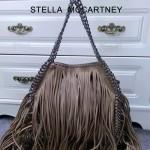 Stella McCartney-014-03 斯特拉秋冬新款潮流時尚高圓圓同款中號流蘇鏈條包