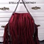 Stella McCartney-014 斯特拉秋冬新款潮流時尚高圓圓同款中號流蘇鏈條包