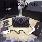 YSL 360452-07 人氣熱銷經典時尚款SAINT LAURENT系列原版皮信封包