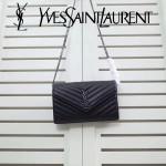 YSL 360452-03 人氣熱銷經典時尚款SAINT LAURENT系列原版皮信封包