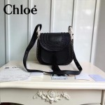 CHLOE 015-01 潮流時尚新款Hudson系列原版平滑小牛皮配磨砂內裡流蘇包