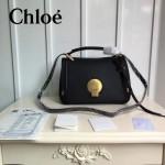 CHLOE 012 潮流時尚新款lndy shoulder系列細紋原版小牛皮大號手提單肩斜挎包