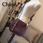 CHLOE 011-03 潮流時尚新款原版進口牛皮小號單肩斜背包