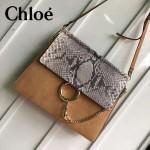 CHLOE 017-01 時尚爆款高圓圓同款Faye系列原版皮單肩斜背包