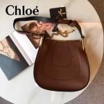 CHLOE 010-03 潮流時尚新款原版進口牛皮大號單肩斜背包