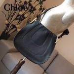 CHLOE 010 潮流時尚新款原版進口牛皮大號單肩斜背包
