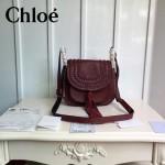 CHLOE 015-02 潮流時尚新款Hudson系列原版平滑小牛皮配磨砂內裡流蘇包