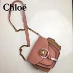CHLOE 63026-06 潮流時尚新款原版皮配中世紀復古銅鏈相機包