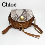 CHLOE 63026-04 潮流時尚新款原版皮配中世紀復古銅鏈相機包