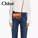 CHLOE 020-05 潮流時尚新款Faye mini系列高圓圓嗆口小辣椒同款原版小牛皮單肩包