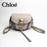 CHLOE 63026-07 潮流時尚新款原版皮配中世紀復古銅鏈相機包