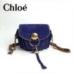 CHLOE 63026-02 潮流時尚新款原版皮配中世紀復古銅鏈相機包