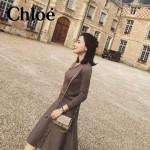 CHLOE 020-06 潮流時尚新款Faye mini系列高圓圓嗆口小辣椒同款原版小牛皮單肩包