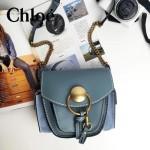 CHLOE 63026-01 潮流時尚新款原版皮配中世紀復古銅鏈相機包