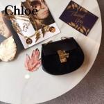 CHLOE 019-5 時尚經典款女士黑色原版皮小號鏈條小豬包