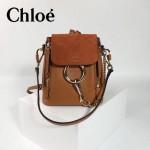 CHLOE 63062 潮流時尚新款faye系列原版皮小號單背雙肩包
