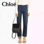 CHLOE 023-01 潮流時尚新款Faye backpack系列原版皮南非小牛皮俏皮雙肩背包