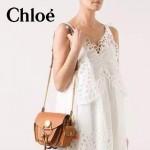 CHLOE 63026-05 潮流時尚新款原版皮配中世紀復古銅鏈相機包