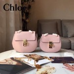CHLOE 019-9 時尚經典款女士粉色原版皮小號鏈條小豬包