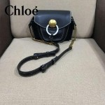 CHLOE 63026 潮流時尚新款原版皮配中世紀復古銅鏈相機包