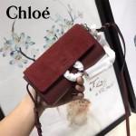 CHLOE 020-03 潮流時尚新款Faye mini系列高圓圓嗆口小辣椒同款原版小牛皮單肩包