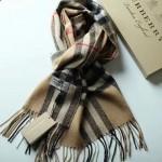 Lvaaa.tw-07 巴寶莉經典款格子交織金線純羊絨長款圍巾