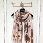 Lvaaa.tw-012 巴寶莉專櫃新款斑點動物紋印花羊絨長款圍巾