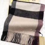 Lvaaa.tw-011-3 巴寶莉經典款裸色大格子羊絨披肩圍巾