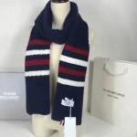 THOM BROWNE圍巾-01-02 2016秋冬走秀款美麗奴羊毛經典的四條桿男女式通用圍巾