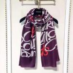 Lvaaa.tw-09 巴寶莉專櫃同款字母印花斜紋羊絨300支加厚長款圍巾