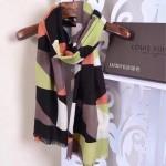 LV圍巾-12-02 人氣熱銷趙薇同款山羊絨面料幾何圖形LV刺繡LOGO方巾