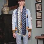 GUCCI圍巾-19-01 專櫃時尚新款進口羊毛提花大GG雙面圖案情侶款圍巾