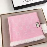 GUCCI圍巾-17-03 人氣熱銷時尚經典款GUCCI大提花頂級絲羊毛方巾