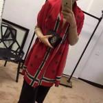 GUCCI圍巾-22 人氣熱銷時尚款羊絨小蜜蜂系列女士圍巾披肩