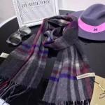 Lvaaa.tw-03 巴寶莉頂級新品男士刺繡羊絨長款圍巾