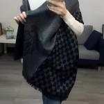 GUCCI圍巾-25-01 人氣熱銷時尚款水貂絨帶繡披肩圍巾