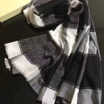 Lvaaa.tw-020-2 巴寶莉專櫃新款秋冬保暖羊絨長款圍巾