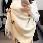 GUCCI圍巾-24 潮流時尚GUCCI定製版小蜜蜂水貂絨圍巾