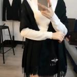 GUCCI圍巾-24-03 潮流時尚GUCCI定製版小蜜蜂水貂絨圍巾