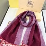 Lvaaa.tw-018 巴寶莉潮流最新款女士拼色羊絨長款流蘇圍巾