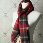 Lvaaa.tw-022 巴寶莉潮流經典男女通用格紋原單羊絨長款圍巾